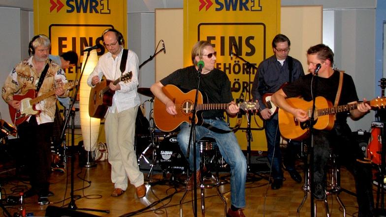 SWR1 Band mit Björn Meindl, Nosie Katzmann und Markus Metz