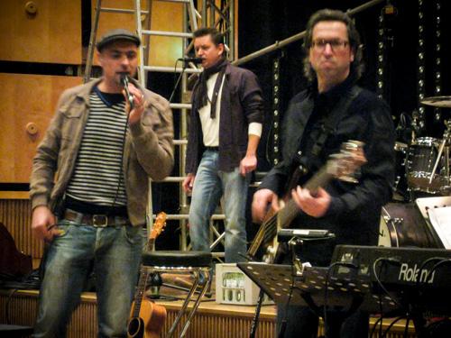 Max Mutzke Probe für SWR Weihnachtskonzert