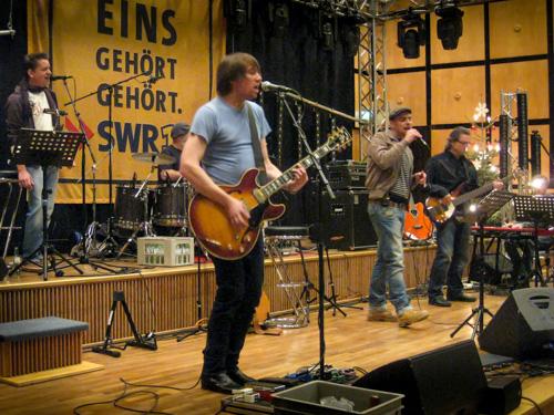 SWR Band Probe mit Max Mutzke und Markus Metz