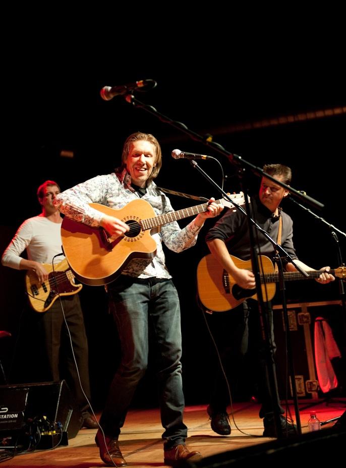Wolfgang Ritter, Nosie Katzmann, Markus Metz in Darmstadt
